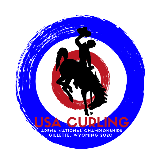 Event Logo USA Curling Arena National Championships 2020x sq